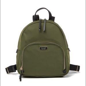 NWT Kate Spade Olive Backpack